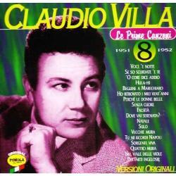 CLAUDIO VILLA- LE PRIME CANZONI 1951 - 1952