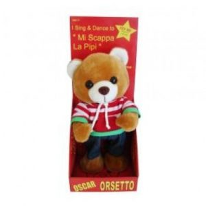 Oscar Orsetto - Mi Scappa La Pipi Singing Bear