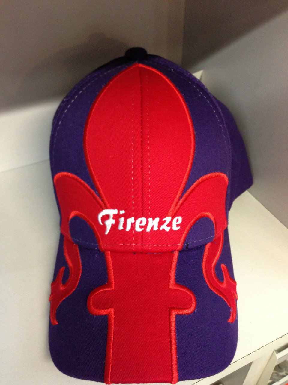 FIRENZE RED/PURPLE CAP