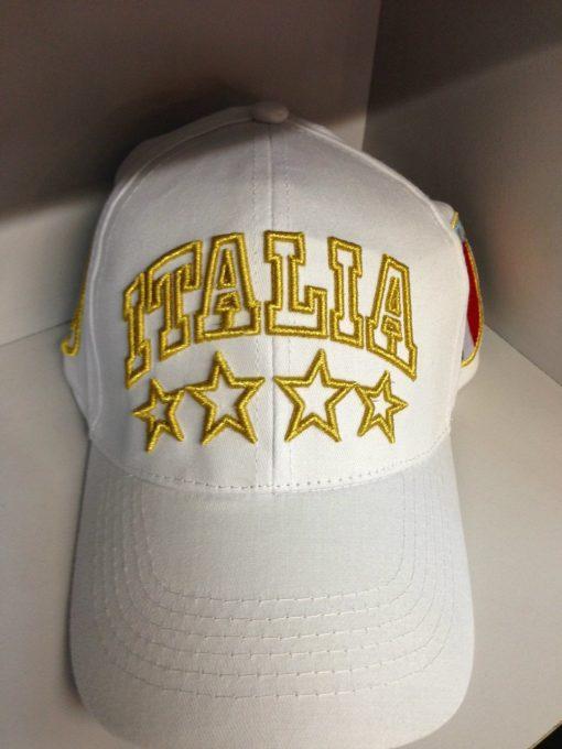 ITALIA WHITE & GOLD CAP