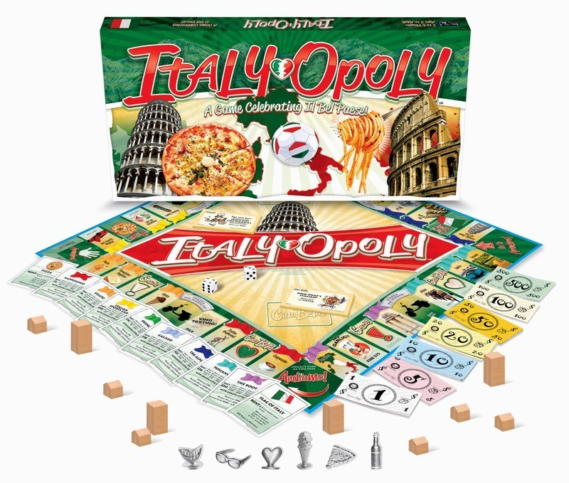 ITALY-OPOLY BOARD GAME (ITALIAN MONOPOLY)