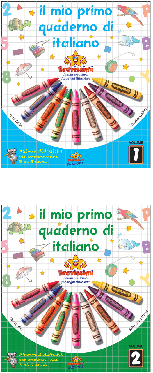 IL MIO PRIMO QUADERNO  DI ITALIANO: CHILDRENS BOOK