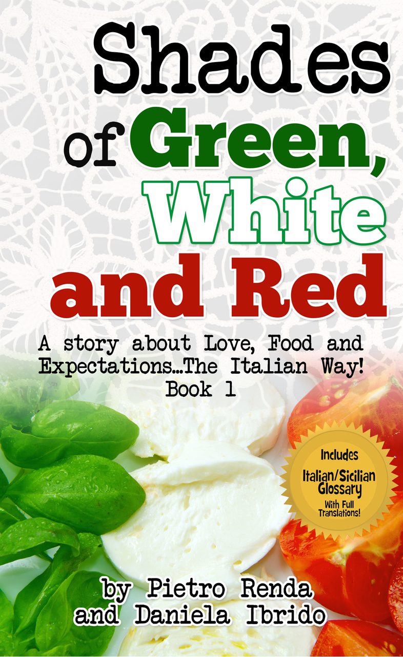 SHADES OF GREEN WHITE & RED: Book 1
