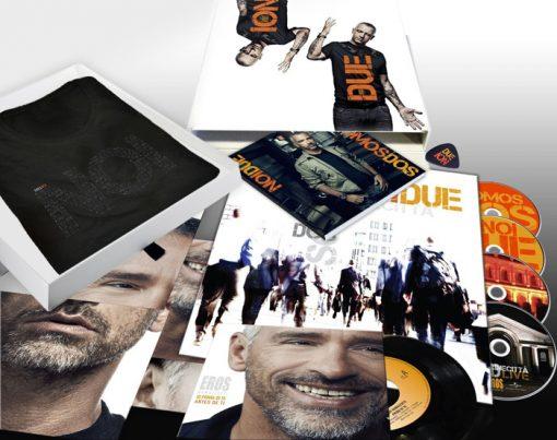 EROS RAMAZZOTTI - DELUXE NOI DUE 3 CD + 1 DVD  + VINYL + MORE