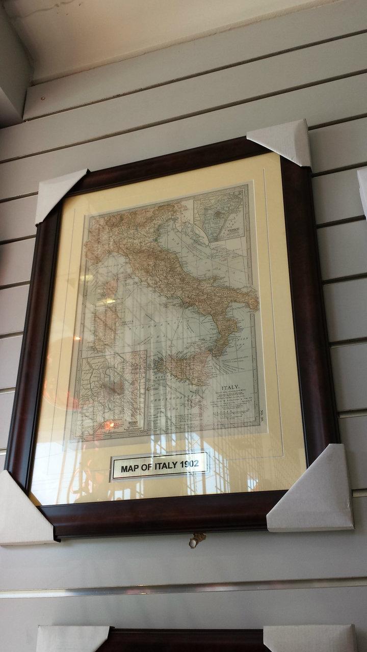 ITALIA - MEDIUM MAP