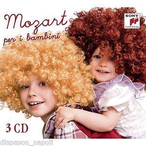 MOZART PER I BAMBINI - 3CD