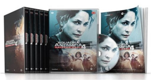 SQUADRA ANTIMAFIA PALERMO OGGI: STAGIONE 4 (5DVD)