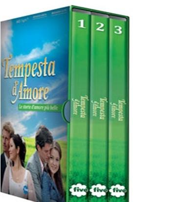 TEMPESTA D'AMORE (3DVD)