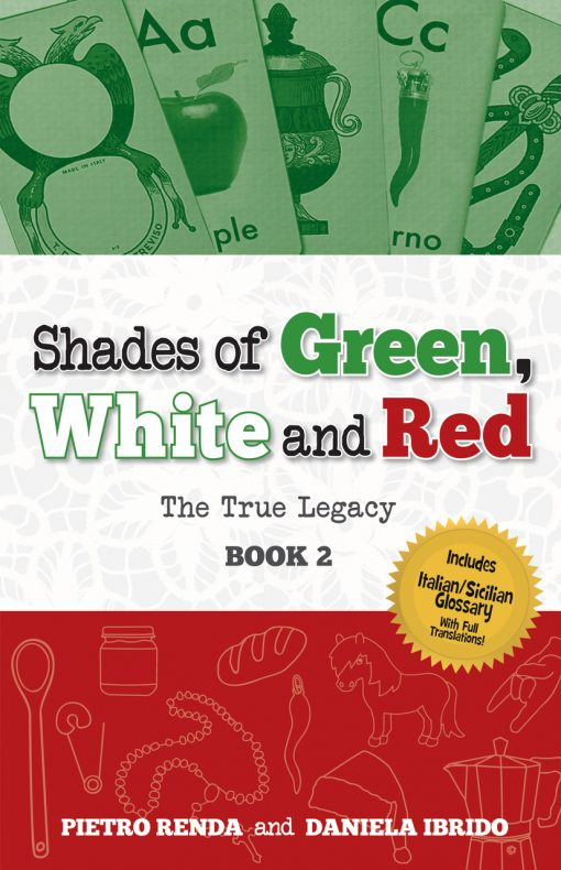 SHADES OF GREEN WHITE & RED - PART 2