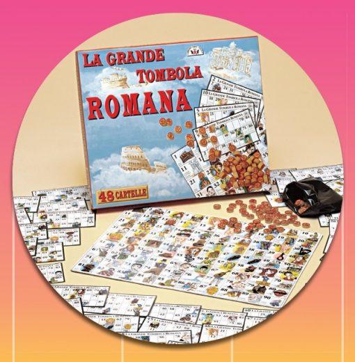 TOMBOLA ROMANA 48 CARTELLE