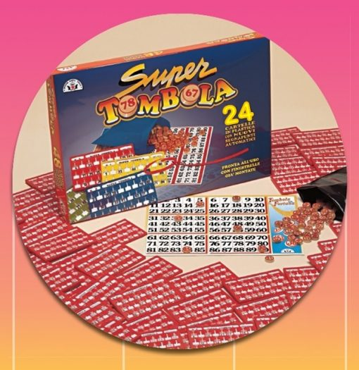 SUPER TOMBOLA VERS 2 - 24 CARTELLE