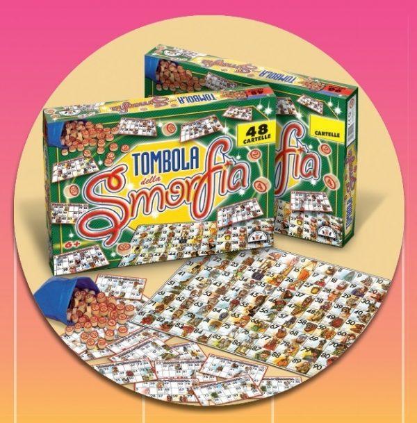 TOMBOLA DELLA SMORFIA 48 CARTELLE