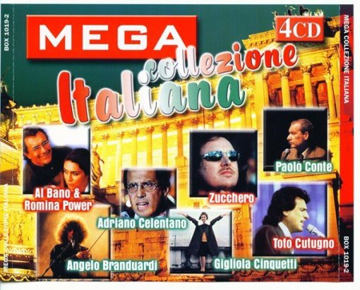 MEGA COLLEZIONE ITALIANA 4 CD COLLECTION