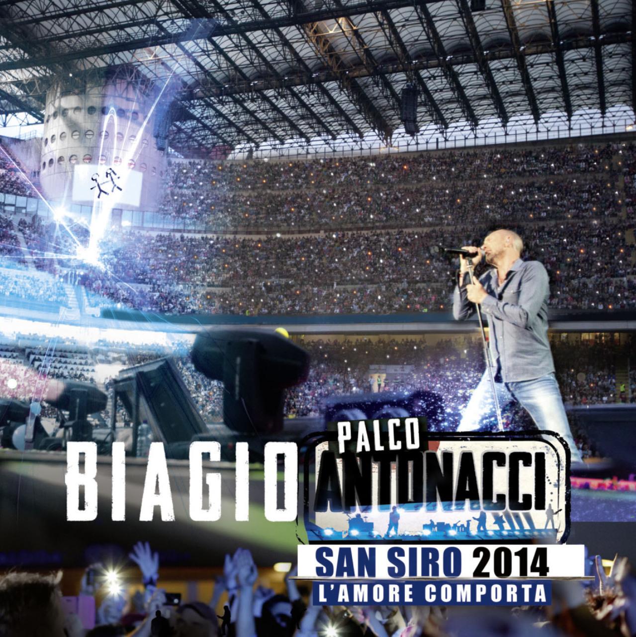 PALCO ANTONACCI SAN SIRO 2014 - L'AMORE COMPORTA (2CD+DVD)
