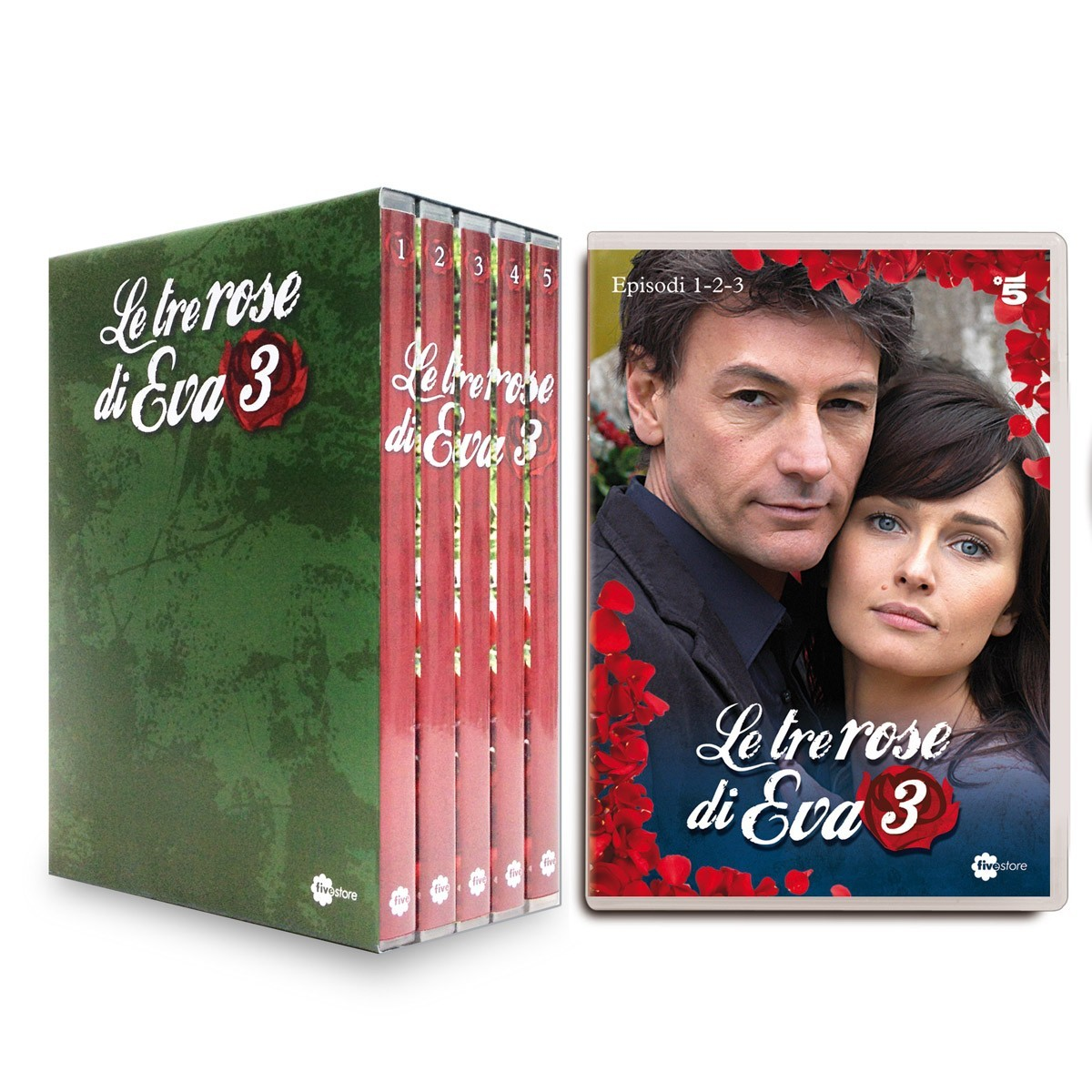 LE TRE ROSE DI EVA - SEASON 3 (5 DVD)