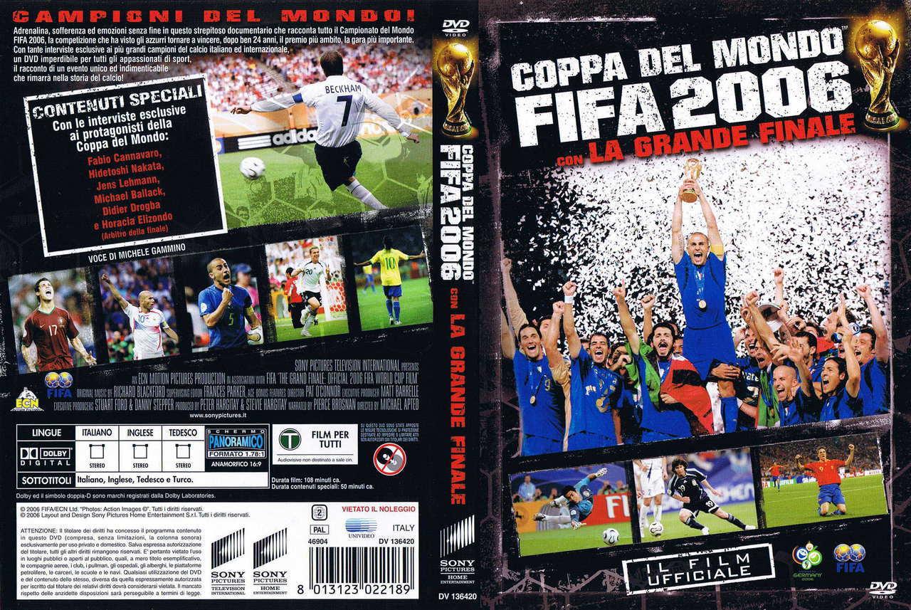 DVD COPPA DEL MONDO FIFA 2006 CON LA GRANDE FINALE