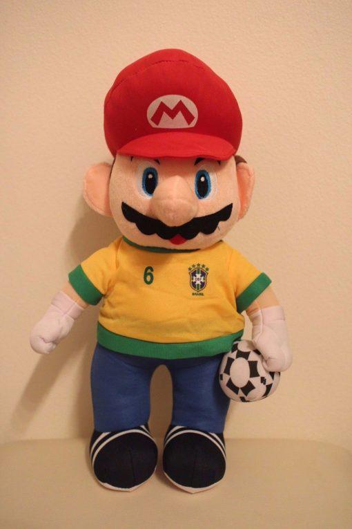 MARIO BRAZIL FIFA WORLD CUP 2014 PLUSH TOY