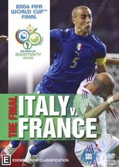 FIFA WORLD CUP FINAL 2006 ITALY V FRANCE
