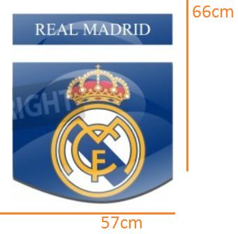 Real Madrid STICKER (57cmx66cm)