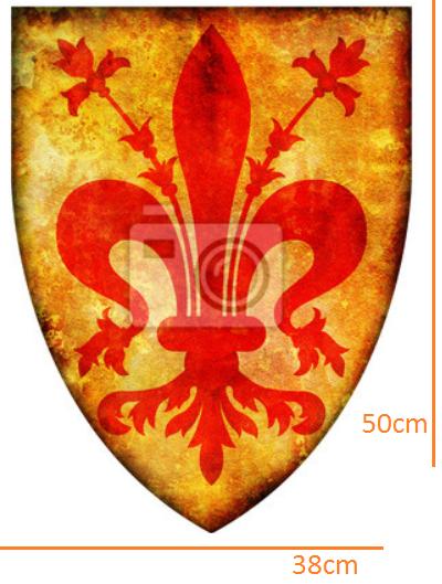 Florence Crest STICKER (38cmx50cm)