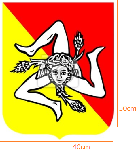 Sicilia STICKER (40cmx50cm)