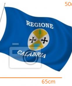 Calabria Flag STICKER (65cmx50cm)