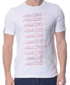 Mens RED Ferrari Graphic T-Shirt