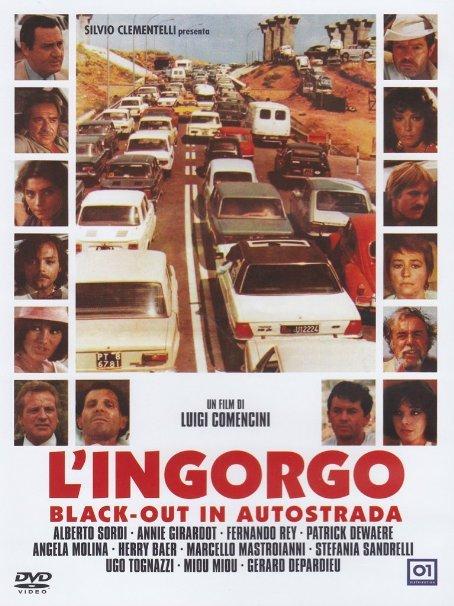 SORDI - BLACKOUT IN AUTOSTRADA - L'INGORGO (DVD)