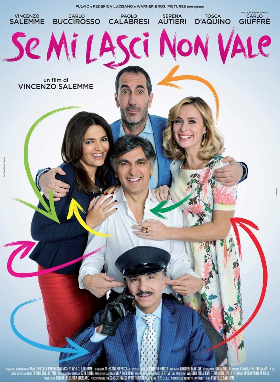 SE MI LASCI NON VALE (DVD)