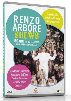 RENZO ARBORE SHOWS (4 DVD) (DVD)