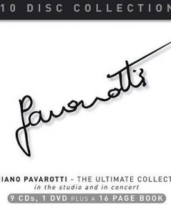 LUCIANO PAVAROTTI - THE ULTIMATE COLLECTION (10 DISC COLLECTION)