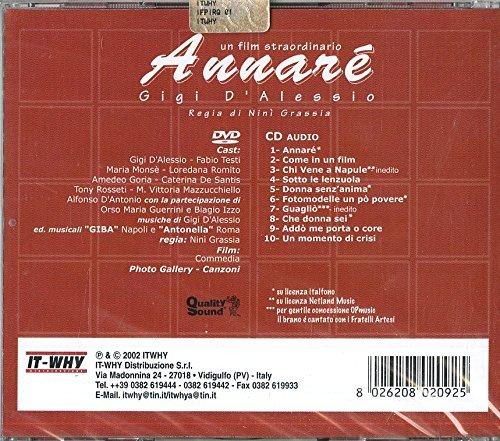 GIGI D'ALESSIO - ANNARÉ - (CD+DVD)