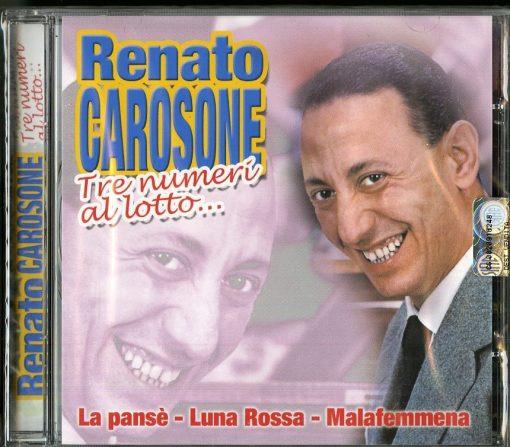 RENATO CAROSONE - TRE NUMERI AL LOTTO
