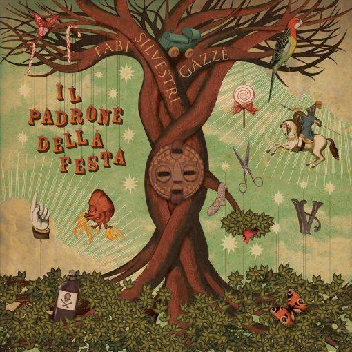 FABI SILVESTRI GAZZÉ - IL PADRONE DELLA FESTA (CD)
