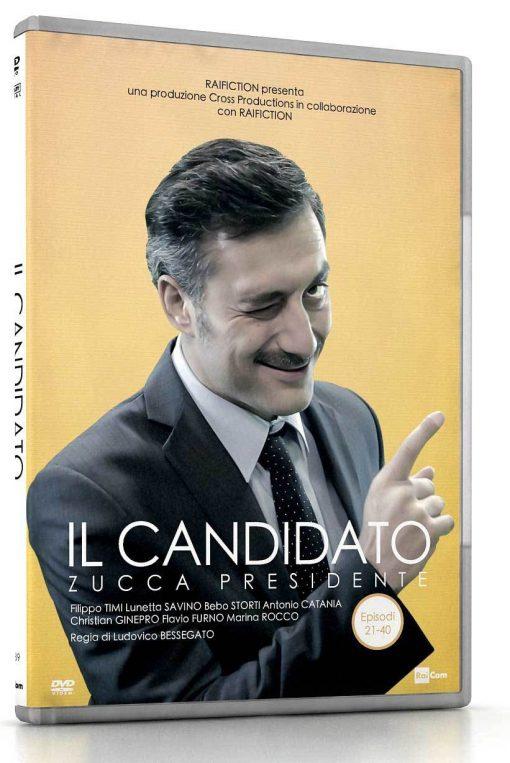 IL CANDIDATO #2 (EPISODI 21-40) (DVD)