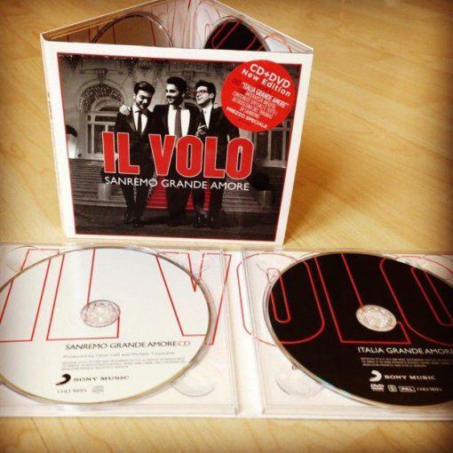 IL VOLO - SANREMO GRANDE AMORE CD + DVD NEW EDITION