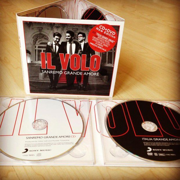 IL VOLO - SANREMO GRANDE AMORE CD + DVD NEW EDITION
