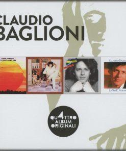 CLAUDIO BAGLIONI- GLI ORIGINALI (4 CD)