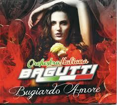 ORCHESTRA ITALIANA BAGUTTI- BUGIARDO AMORE (CD)