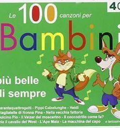 LE 100 CANZONI PER BAMBINI  (4CD)