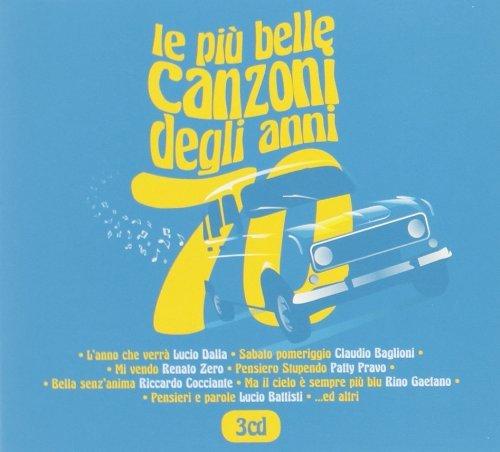 LE PIU' BELLE CANZONI DEGLI ANNI 70 (3 CD)