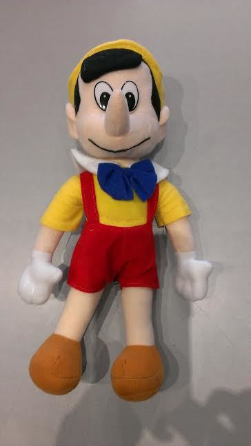 PINOCCHIO PLUSH SOFT TOY 30CM
