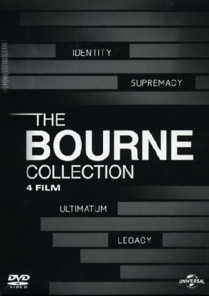 THE BOURNE COLLECTION - 4 FILM BOX