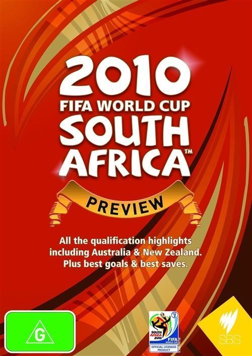 2010 FIFA WORLD CUP SOUTH AFRICA PREVIEW DVD