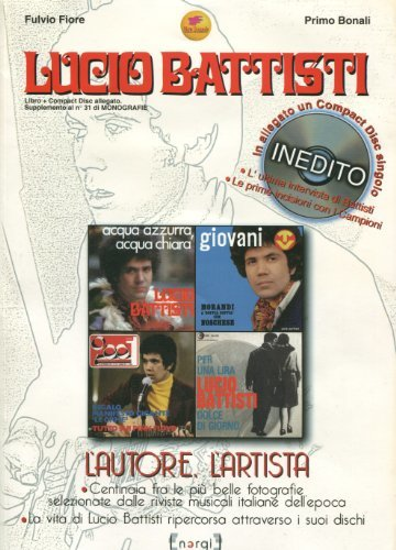 LUCIO BATTISTI - L'AUTORE, L'ARTISTA (LIBRO + CD)
