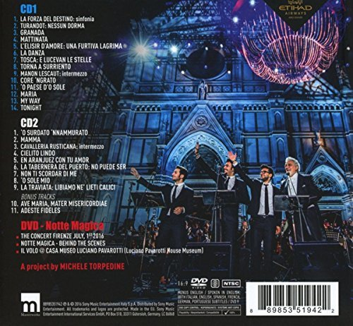 IL VOLO FEAT PLACIDO DOMINGO - NOTTE MAGICA (DELUXE EDITION 2CD + DVD)