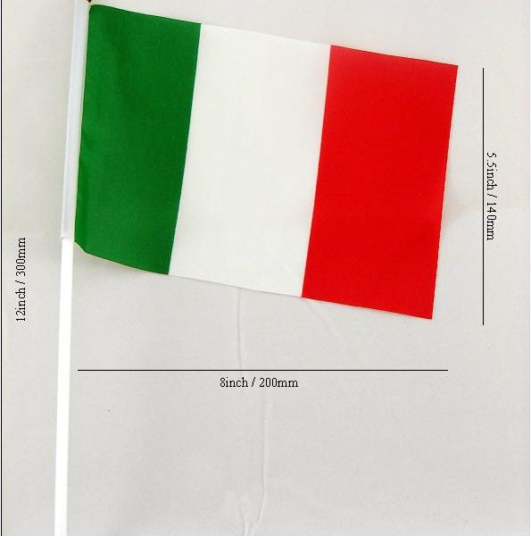 Bandiera Italia Waving Flag