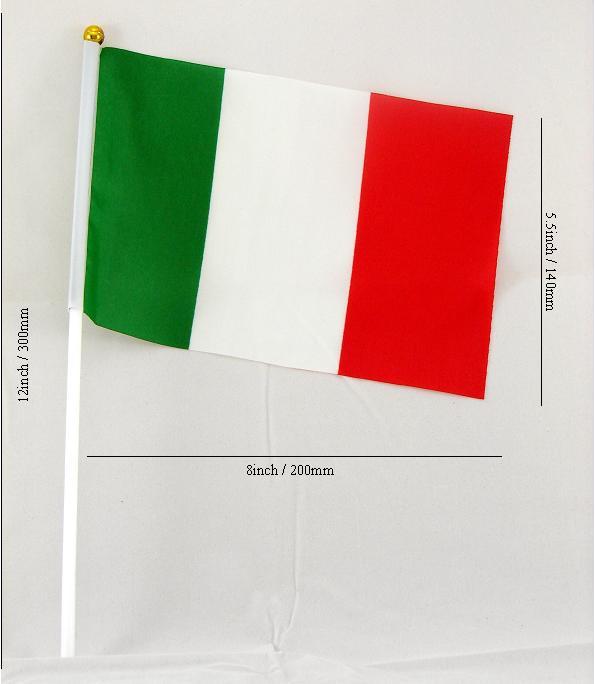 Bandiera Italia Waving Flag
