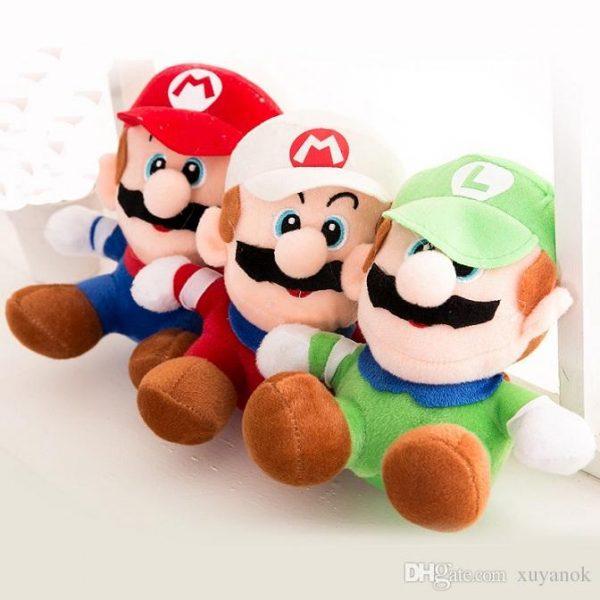Mario Luigi Plush Toy small