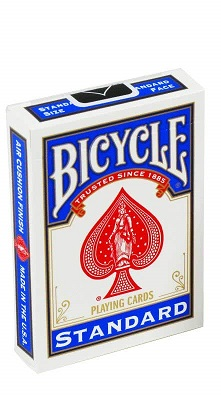 bicycle-playing-cards-poker BLUE